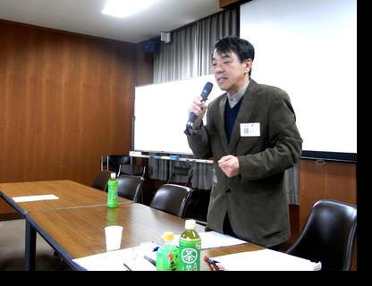 修士論文を発表された藤川氏