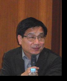藤川氏の発表にコメントされる李教授