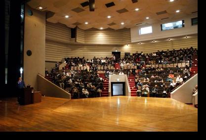 講義前景:田中記念館