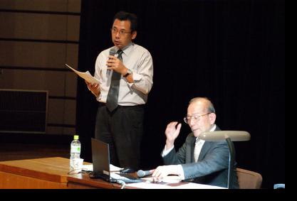 福原教授(経友会講座担当):講師の紹介