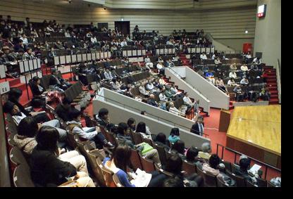 講義会場:田中記念館
